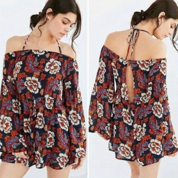 Urban Outfitters Pants - Urban Outfitters - Floral Romper